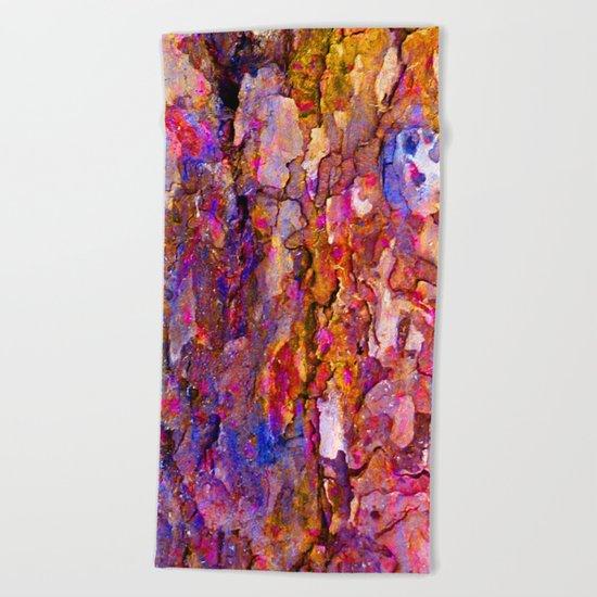 Bark Rainbow Beach Towel