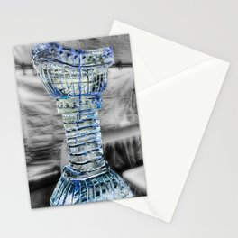 Ice Chalice Sculpture at Icestravaganza, 2017 Stationery Cards