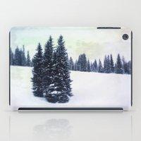 ski iPad Cases featuring November Ski by Amelia Vilona