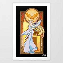 Goddess Hylia Art Print