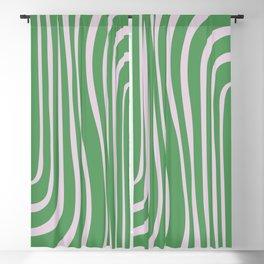 Green Algae Pond - Abstract Motif Blackout Curtain