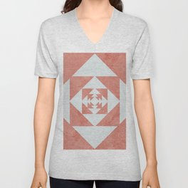 this desert flower Unisex V-Neck