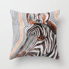 zeberahhhh! Throw Pillow