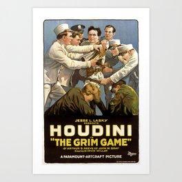 Houdini Movie Poster Art Print