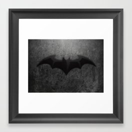 Its too Dark Framed Art Print