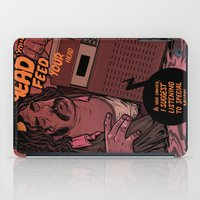 lawyer iPad Cases featuring Lawyer (special music) by Mikhail Kalinin