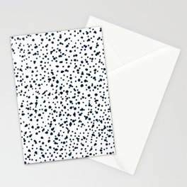 dalmatian print Stationery Cards
