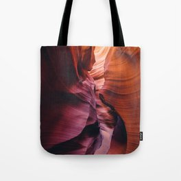Antelope Canyon Rainbow Tote Bag