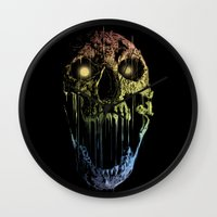 soul eater Wall Clocks featuring Soul Eater by Doyle See
