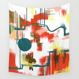 Deco Sun Wall Tapestry