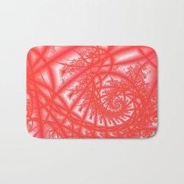 Venetian Lace In Reds Bath Mat