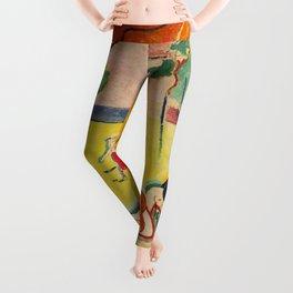 Henri Matisse - Le bonheur de Vivre (The Joy of Life) portrait painting Leggings