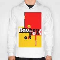 bauhaus Hoodies featuring Bauhaus Lamp by Simona Susnea