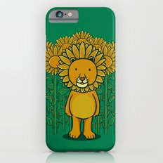 Sunflower and Lion (Camouflage) Slim Case iPhone 6s