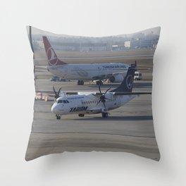 Tarom ATR 42-500 Throw Pillow