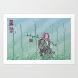 wandering wild Art Print