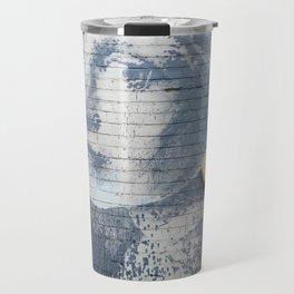 "Banksy ""Girl with a Burst Eardrum"" Travel Mug"