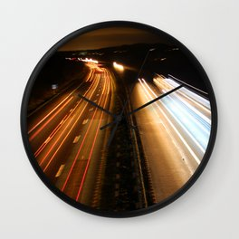 world in motion #4 Wall Clock