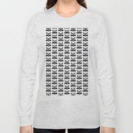 Teeny Tiny Coonie Pattern Long Sleeve T-shirt