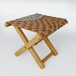 texture - connections Folding Stool