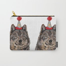 Wolf Party Carry-All Pouch