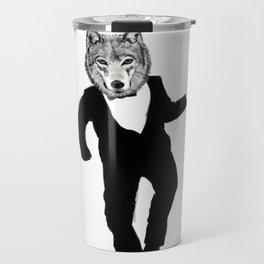 Dancing Wolf Travel Mug