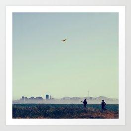 Kite Art Print