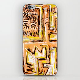 Avec et a Travers by Johnny Otto iPhone Skin