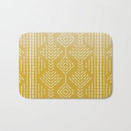 Yellow Ombre needlepoint Bath Mat