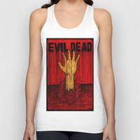 evil dead Tank Tops featuring Evil Dead by Pineyard