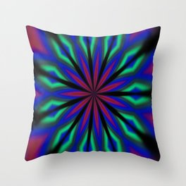 Mystical Hallucinations Throw Pillow