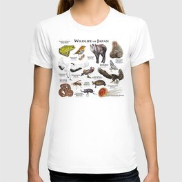 Wildlife of Japan T-shirt
