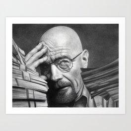 Breaking Bad Walter White Art Print