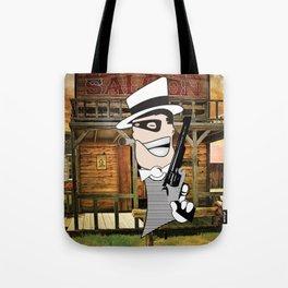 Western Mobster Tote Bag