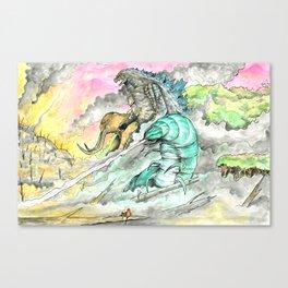 Titans Restore the Rainforest Canvas Print