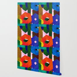 Retro Artistic Pattern Wallpaper