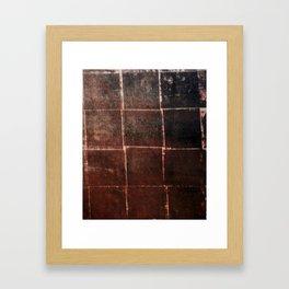 Woven Decay Framed Art Print