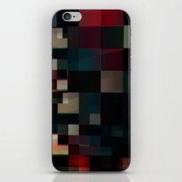 Patchwork V iPhone Skin