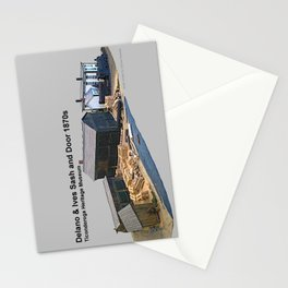 Delano & Ives Sash and Door Model Stationery Cards