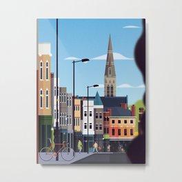 Church St. Stoke Newington Metal Print