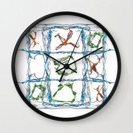 X and O Wall Clock