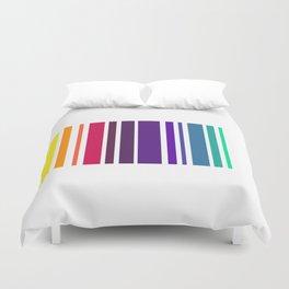 Code Rainbow Duvet Cover