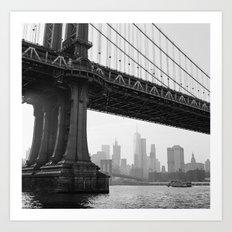 Manhattan Bridge 1 Art Print