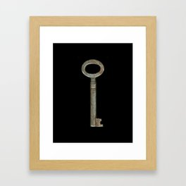 Key to Happiness Framed Art Print