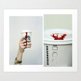 Consumption  Art Print