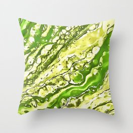 Drowning Here Throw Pillow