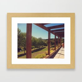 The Vineyard Framed Art Print