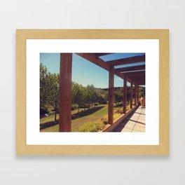 The Vineyard Framed Art Print
