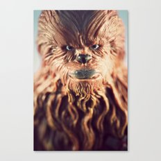 Not Wise To Upset A Wookie Canvas Print