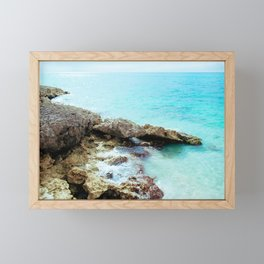 Crashing Waves Framed Mini Art Print